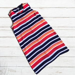 Cynthia Rowley Striped Sleeveless Shift Dress